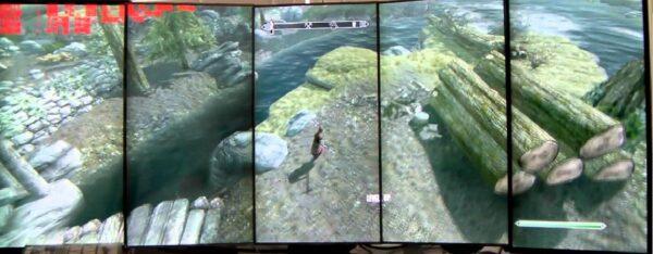 5 мониторов в игре